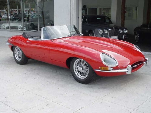 1963 jaguar xk e type roadster
