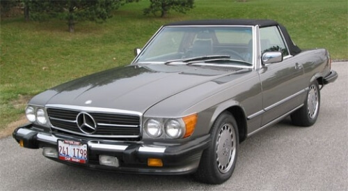 1978 mercedes benz slc sl w107